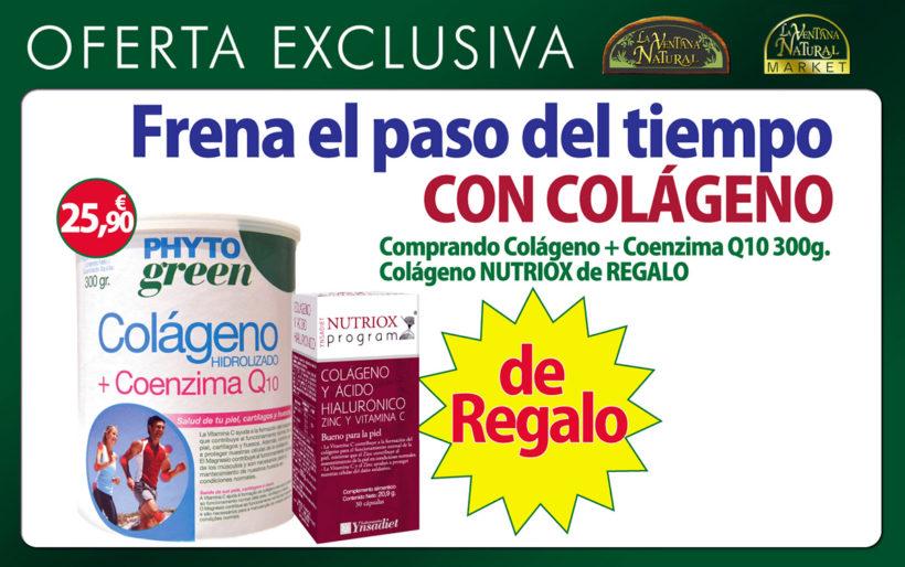 Oferta Marzo: Colágeno NUTRIOX de Regalo
