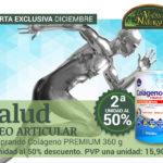 Oferta de Diciembre: Por la compra de un Zentrum Colágeno Premium 360 g, 2ª unidad al 50%! Cuida tus articulaciones, huesos y piel!