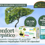 Oferta de Diciembre: Por la compra de Hepagreen 30 ampollas, un Hepatoplan forte 30 cápsulas de regalo! Cuida tu hígado!